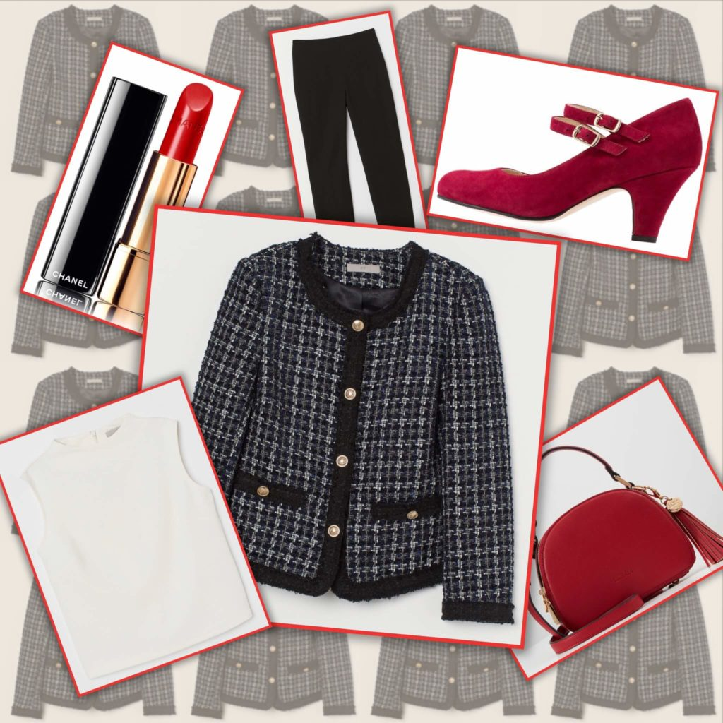 Boucle jasje 1024x1024 - Parisian Style Outfit   Chanel vibes